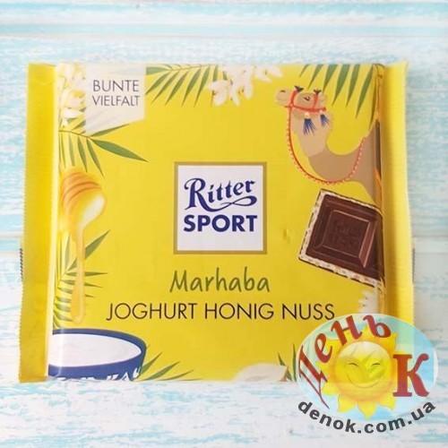 Шоколад йогурт мед Ritter Sport Marhaba купить в Украине недорого
